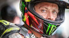 Valentino Rossi vicino all'annuncio del ritiro