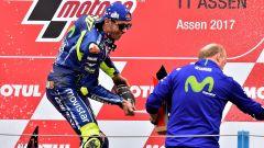 Valentino Rossi vince il GP d'Olanda