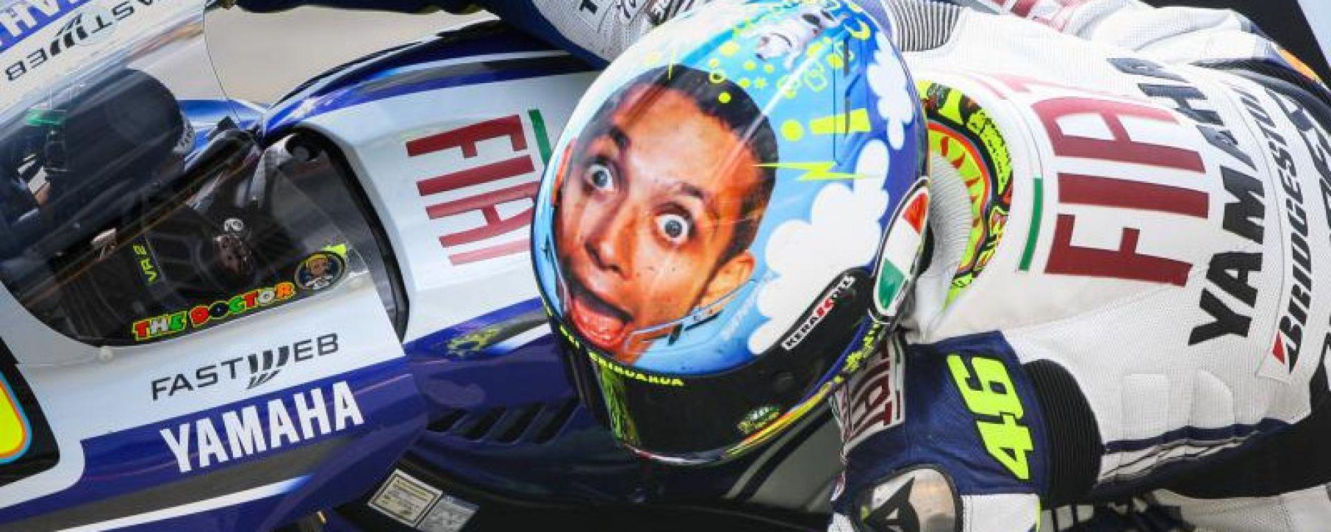 Valentino Rossi (Yamaha) al Mugello 2009