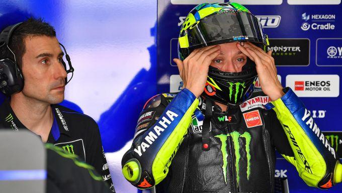 Valentino Rossi (Yamaha), Qatar MotoGP test 2020