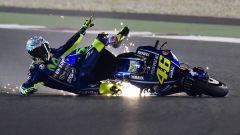 MotoGP 2017: Valentino Rossi cade facendo enduro, Mondiale finito?