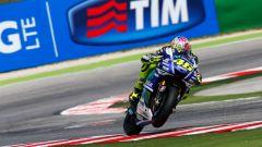 MotoGP Misano 2017: in pista con la Yamaha di Valentino Rossi