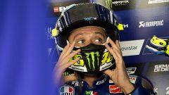 """MotoGP Aragon 2017, Valentino Rossi: """"Entusiasta della prima fila, ora vediamo per il passo gara"""""""