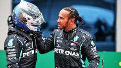Valtteri Bottas e Lewis Hamilton (Mercedes AMG Petronas F1 Team)