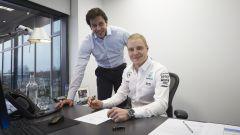 F1 2017: Valtteri Bottas in Mercedes nel 2018, il rinnovo è pronto al 90%