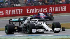 Valtteri Bottas (Mercedes) in pista ad Hockenheim