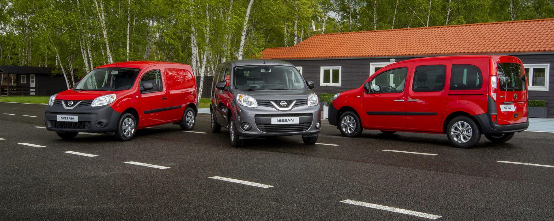 Van compatti: Nissan annuncia il nuovo NV250
