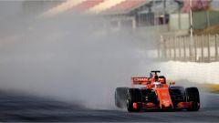 Vandoorne e la McLaren - F1 2017 test Barcellona