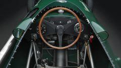 Vanwall F1: interni, l'abitacolo della monoposto replica