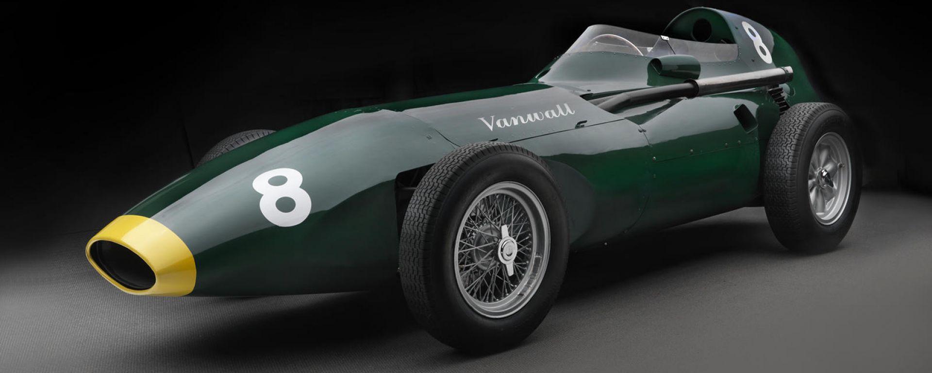 Vanwall F1: la replica dell'auto che vinse il mondiale nel 1958