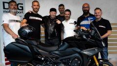 Vasco Rossi è uno dei fortunati possessori della 847-R, la Yamaha Tracer 900 GT in serie limitata