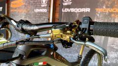 Vent LDV500: i comandi dei freni Braking della RR sono dorati