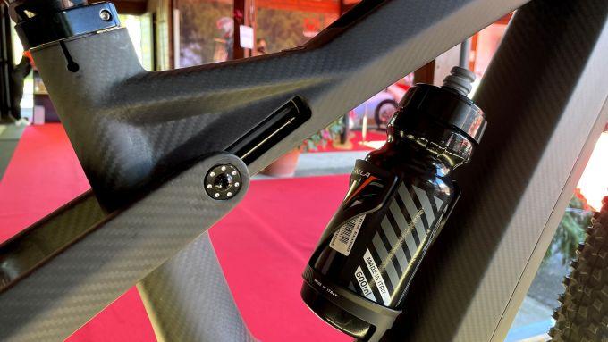 Vent LDV500: la slitta su cui si muove il carro posteriore