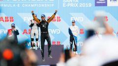 Vergne esulta sul gradino più alto del podio del Sanya ePrix 2019