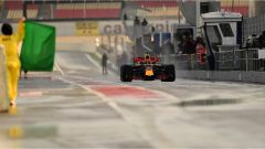 Verstappen e la Red Bull - F1 2017 test Barcellona