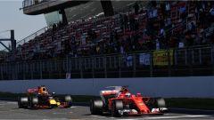 Verstappen e Raikkonen - test pre-stagionali 2017 Circuit Catalunya