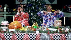 Verstappen e Ricciardo Natale 2017
