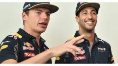 Verstappen e Ricciardo saranno i due piloti della Red Bull RB13 nella stagione di F1 2017