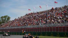 Verstappen in pista a Montreal