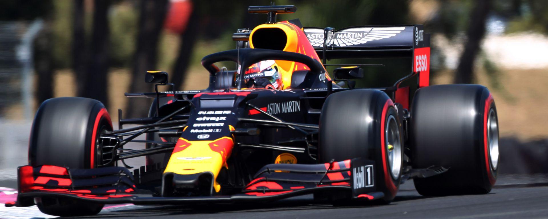 Verstappen nelle qualifiche in Francia