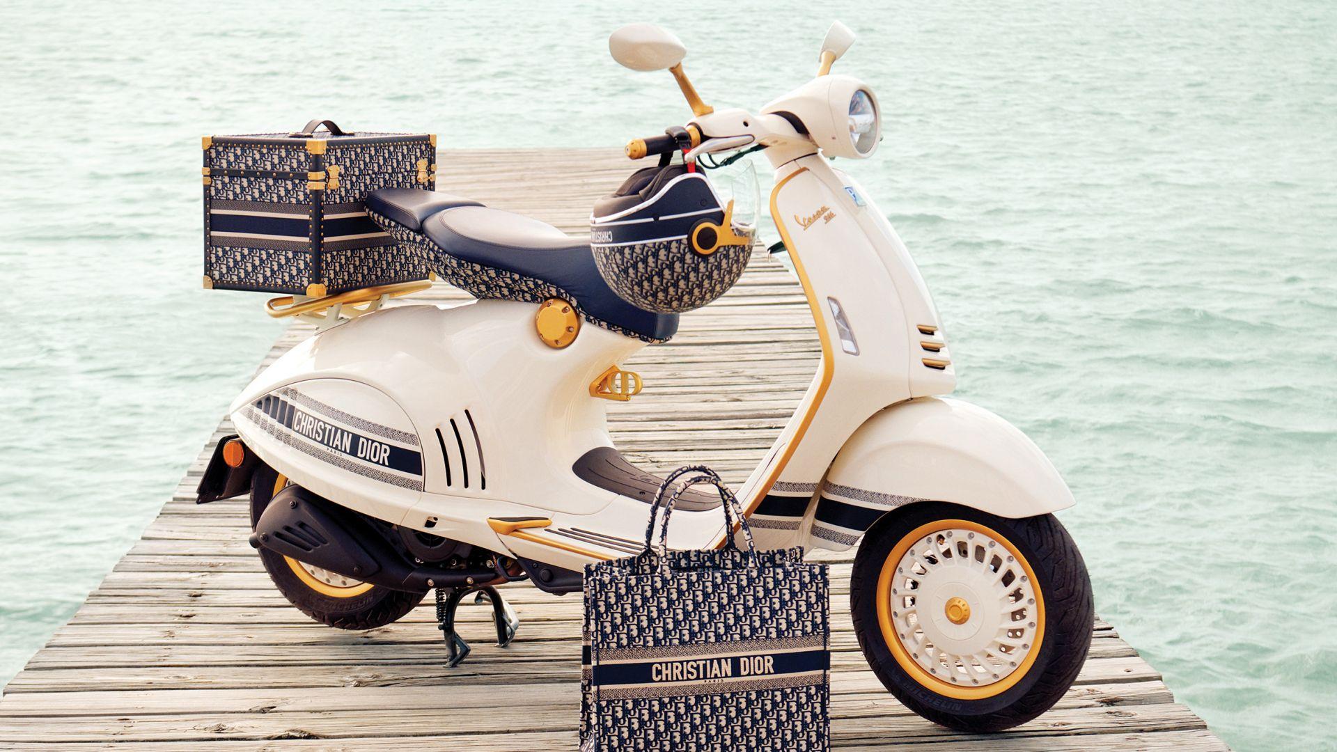 Piaggio Vespa 946 Christian Dior: foto, prezzo, uscita - MotorBox