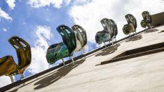 Vespa Freedom, installazione a Firenze