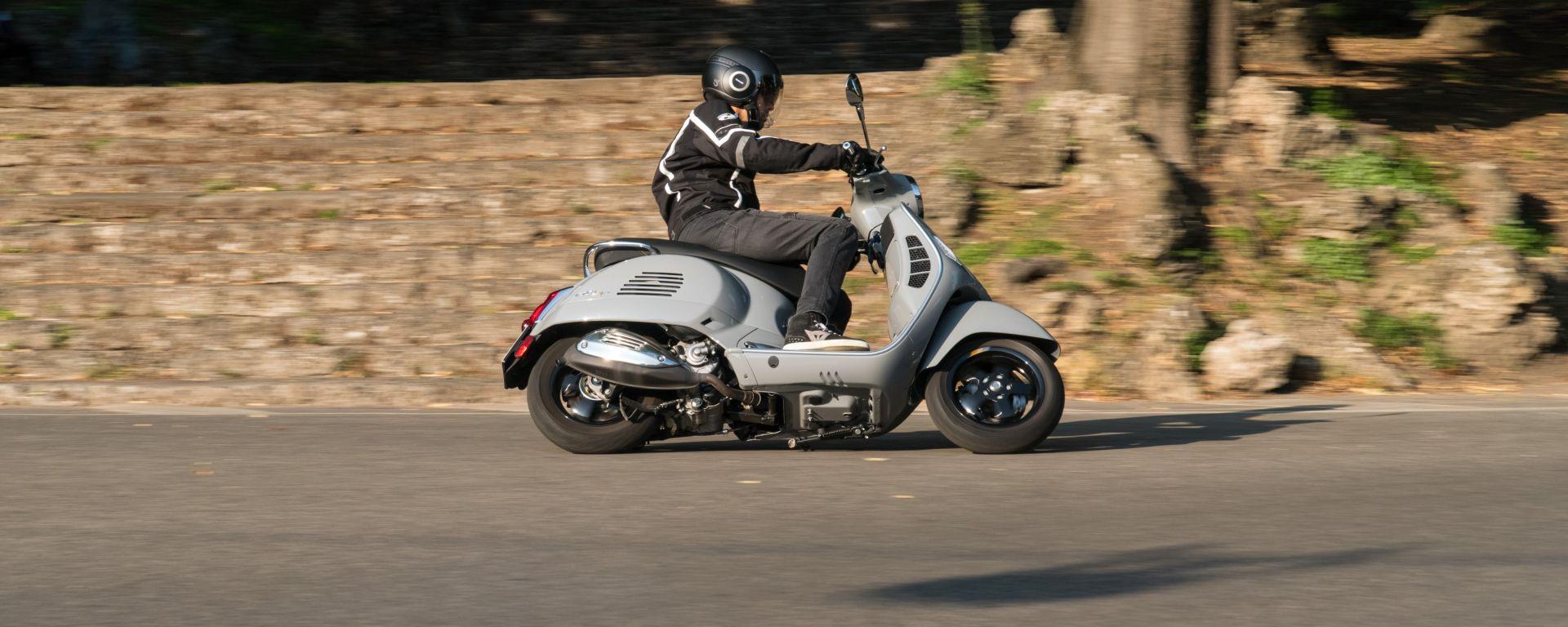 Vespa GTS 300 HPE SuperTech: agile su strada