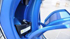 Vespa Sprint 125 iGet, retroscudo