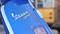 Vespa Sprint 125 iGet, scritta modello