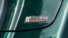 Vespa Sprint 125 Racing Sixties: la mostrina identificativa sullo sportello del vano retroscudo