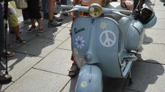 Vespa World Days 2017, vespa storica