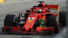 Vettel a muro in FP2, alla faccia degli 'errori da evitare', ecco le sue parole - Immagine: 1