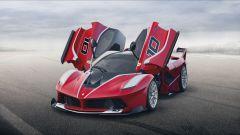 Vettel alla guida della Ferrari FXX K - Immagine: 12