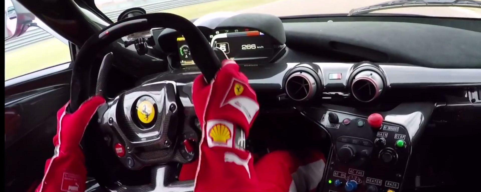 Video: Vettel alla guida della Ferrari FXX K - MotorBox