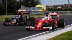 Vettel e Kvyat - GP Ungheria