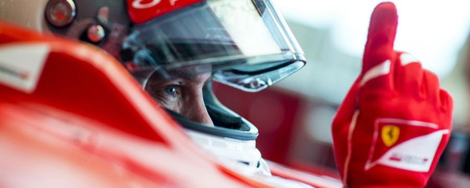 Vettel e la Ferrari: firmato il rinnovo fino al 2020
