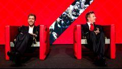Vettel e Raikkonen al pranzo di fine anno