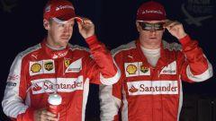 Vettel e Raikkonen - Scuderia Ferrari
