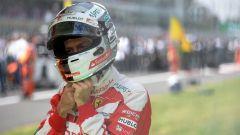 Vettel, il pilota tedesco della Ferrari