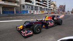 Vettel Red Bull 2009 monaco