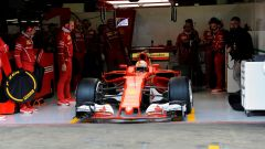 Vettel, Scuderia Ferrari - F1 2017 test Barcellona