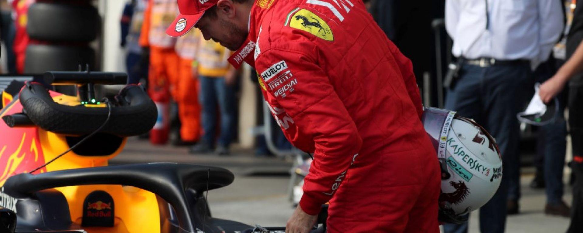 Vettel sorpreso dalla velocità Red Bull in rettilineo
