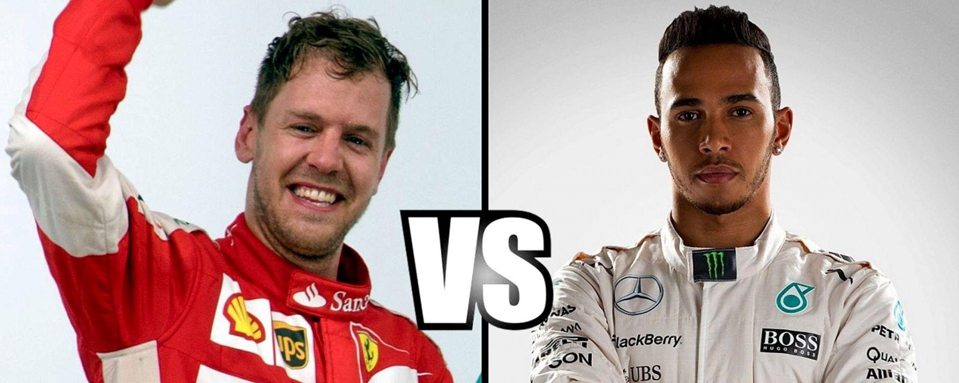 Vettel VS Hamilton: la sfida per il Mondiale F1 2017 continua