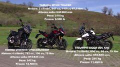 Video: Crossrunner vs MT-09 Tracer vs Tiger XRx  - Immagine: 5