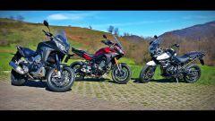 Video: Crossrunner vs MT-09 Tracer vs Tiger XRx  - Immagine: 4