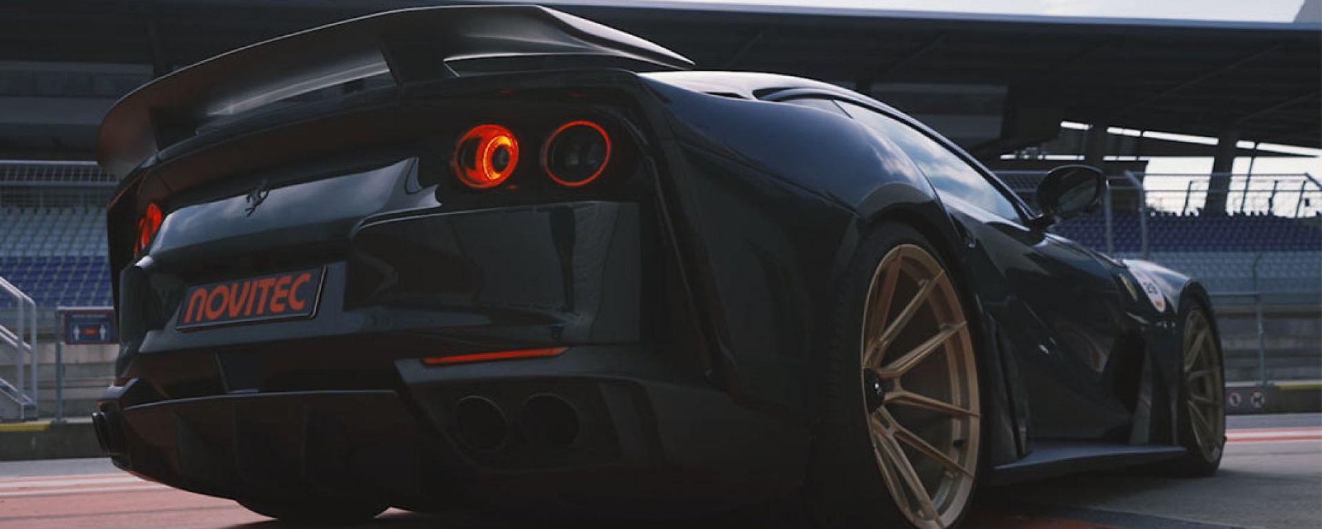 Video: il kit di Novitec per Ferrari 812 Superfast