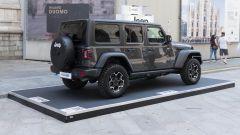 Video: Jeep a MIMO 2021 con Wrangler 4xe ibrida plug-in