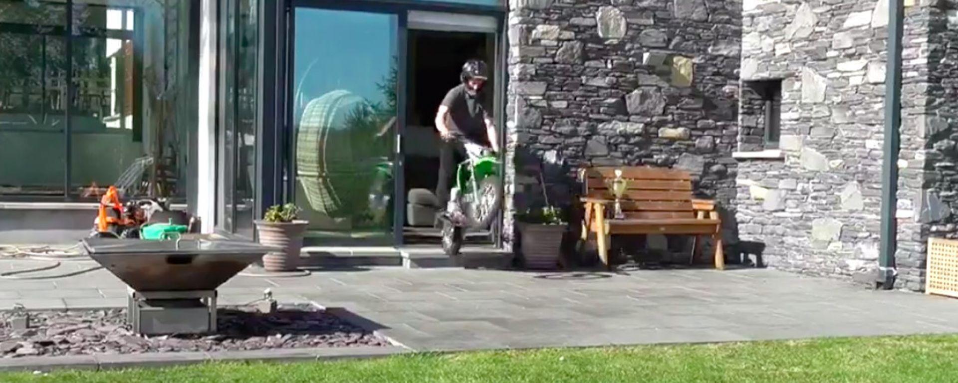 Jonathan Rea ritorna in sella... a casa sua!