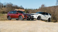 BMW X1 vs Land Rover Discovery: la sfida