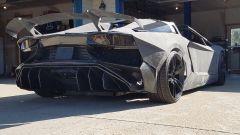 Servizio giornalistico locale sulla Lamborghini Aventador stampata in 3D